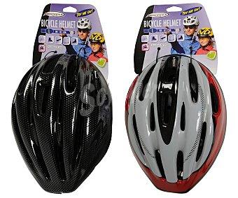 Bicycle gear Casco ciclismo para adulto, talla L (58-61cm.), varios colores, GEAR.