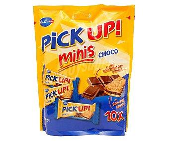 Pick up Galletas minis rellenas de chocolate 10 x 10 g