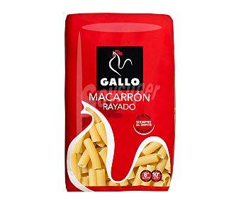 Gallo Macarrones rayados, pasta de sémola de trigo duro de calidad superior Paquete de 1 kg