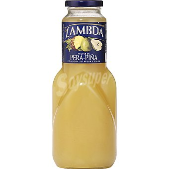 Lambda néctar de pera y piña botella  1 l