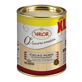 Valor Cacao puro en polvo desgrasado 0% azúcares añadidos xl 340 g