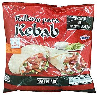 HACENDADO Rellena para kebah congelado (con carne de pollo y ternera) Paquete 300 g