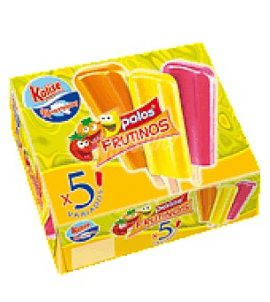 Kalise Helados frutinos Pack de 5x90 ml