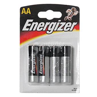 Energizer Pila alcalina AA (LR6) blister 4 unidades 4 unidades