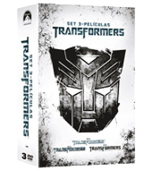 TRILOGIA Trasformers dvd