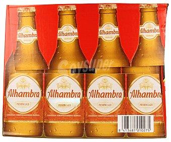Alhambra Cerveza Pack de 24 botellines de 25 centilitros