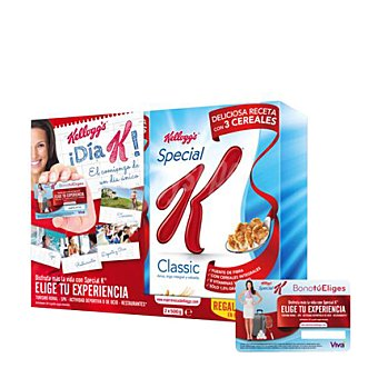 Special K Kellogg's Lote de cereales pack 2x500 g