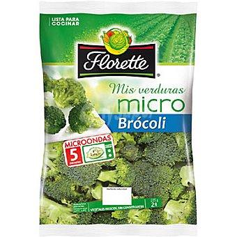 Florette Brócoli listo para microondas Mis verduras Bandeja 225 g