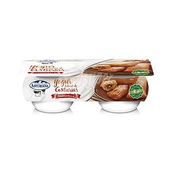 Central Lechera Asturiana Yogur casadiella con nueces Pack 2 x 125 g