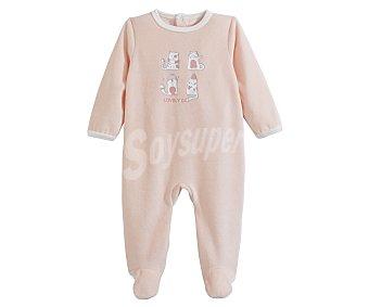 In Extenso Pijama largo aterciopelado talla 68.