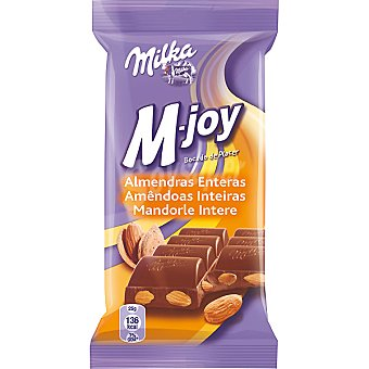 Milka M-joy con almendras Tableta 60 g
