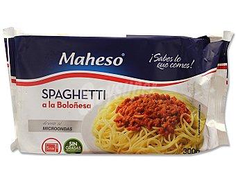Maheso Espaguetis boloñesa 300 Gramos