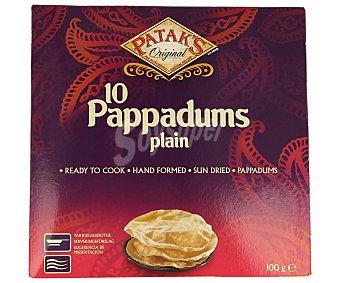 Patak's Pappadums natural 100 g
