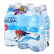 Agua mineral natural Pack de 6 botellas de 33 cl Carrefour Kids