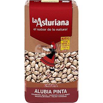La Asturiana Alubia pinta agarbanzada Paquete 1 kg