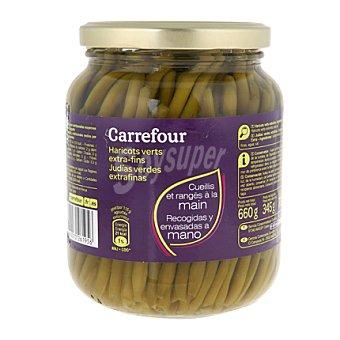 Carrefour Judías verdes extrafino 345 g