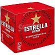 Cerveza rubia nacional Pack 12 botellines x 25 cl Estrella Damm