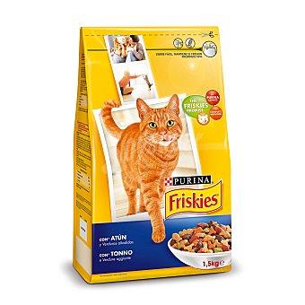 Friskies Purina Purina friskies Gato Adulto con Buey, Pollo y Verduras añadidas 1,5kg 1500 g