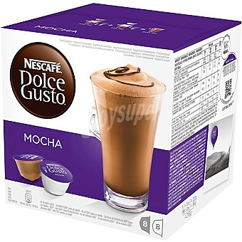 Dolce Gusto Nescafé Café moka 8 cápsulas estuche 112 g 8 c