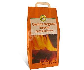 Productos Económicos Alcampo Carbón vegetal especial barbacoas 3 kilogramos