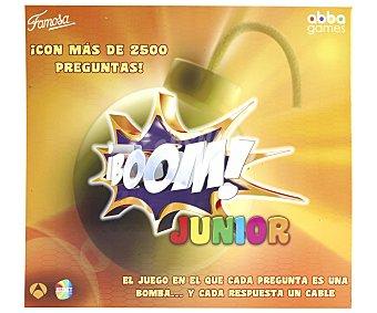Famosa Juego de mesa de preguntas y respuestas Boom! Junior, desde 2 jugadores 1 unidad