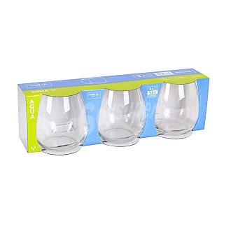 Home Style Set de 3 Vaso de Vidrio Ducale 52cl - Transparente 3 ud