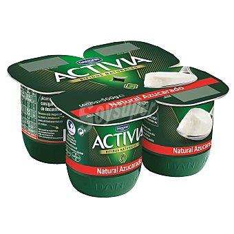 Activia Danone Yogur Natural Azucarado Activia de Danone 4 ud