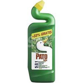 Pato Limpiador Wc verde Bote 750+250 ml