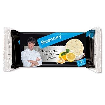 BICENTURY Tortitas de arroz con chocolate blanco limon y coco por Jordi Cruz bolsa 132 g 4x2 unidades