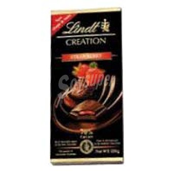 Lindt Tableta Creation Chocolate de fresa 70% Tableta 150 g