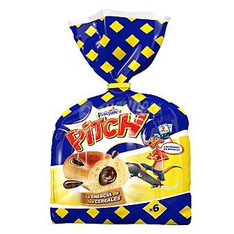 Pasquier Pitch brioche relleno de cacao Bolsa 250 g