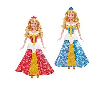 DISNEY Muñeca de Bella Durmiente de 35 Centímetros con Vestido Mágico 1 Unidad
