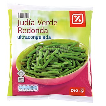 DIA Judía verde redonda Bolsa 1 kg