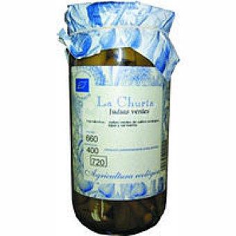 La Churta Judía verde ecológica Frasco 350 g