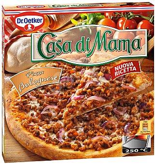 Casa di Mama Dr. Oetker Bolognese pizza con carne de ternera y salsa boloñesa  estuche 420 g