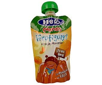 Hero Bolsita de gelatina con naranja y mandarina 100 gramos