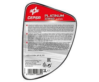 CEPSA Lubricante sintético para motores gasolina y diesel 1 Litros