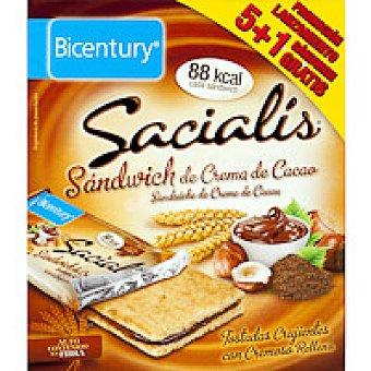 Sacialis Sandwich de cacao Caja 90 g