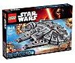 Juguete de construcción Nave Halcón Milenario de Star Wars, 1329 piezas, modelo 75105 1 unidad LEGO