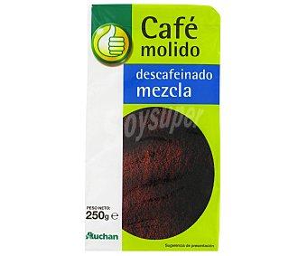 Productos Económicos Alcampo Café molido descafeinado mezcla 250 gr