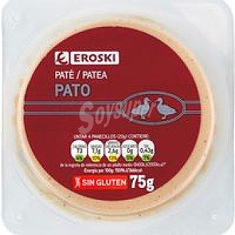 Eroski Paté de pato 75 g