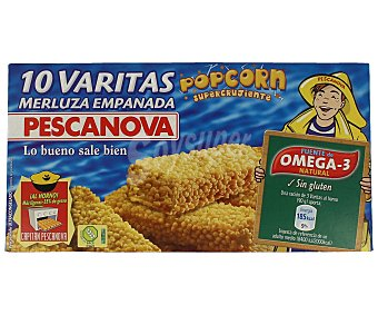 Pescanova Varitas de merluza supercrujientes Caja 300 g