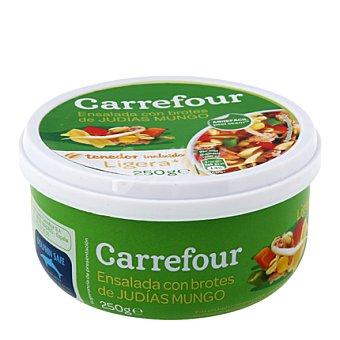 Carrefour Ensalada ligera atún brotes de soja 250 g