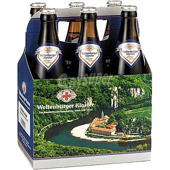 WELTENBURGER Kloster Anno 1050 Cerveza rubia alemana de monasterio pack 5 botella 50 cl + 1 botella gratis Pack 5 botella 50 cl
