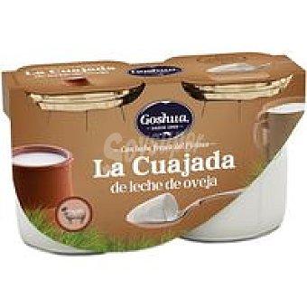 Goshua Cuajada de oveja Pack 2x125 g