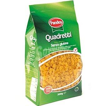 PANDEA Quadretti Pasta dietética sin gluten 100% maíz Envase 500 g
