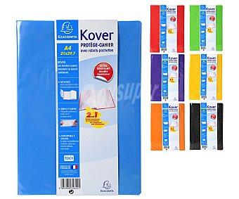 Exacompta Forro de cuaderno A4, varios colores, EXACOMPTA.