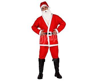 Atosa Disfraz de Papá Noel de fieltro para adulto, talla M-L, ATOSA.