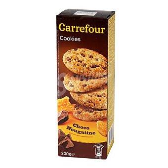 Carrefour Galletas con chocolate y nougatine 200 g