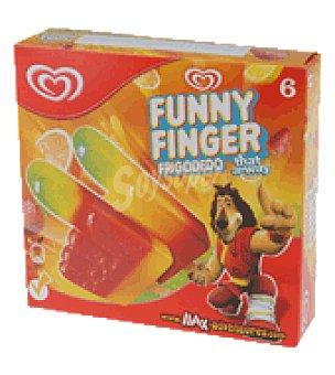 Frigo Helado frigo dedo 6 ud